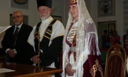Пара из Италии сыграла свадьбу в осетинских традициях