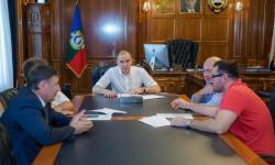 Врио главы КЧР встретился с руководством ОАО «КСК»
