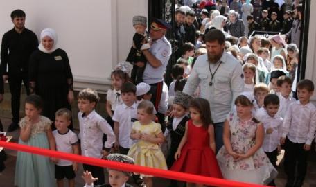 Картинки по запросу В Грозном открылся детский сад «Сказочный замок»