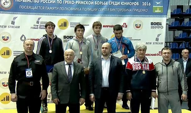 Омский борец вошел в состав сборной России по греко-римской борьбе