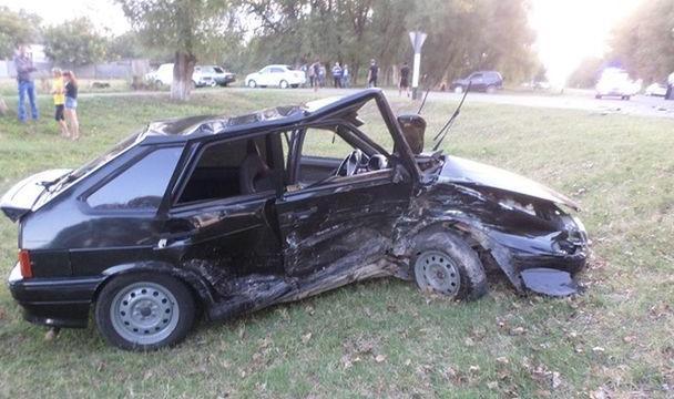 Пассажирки иводители пострадали вДТП вКурском районе Ставрополья
