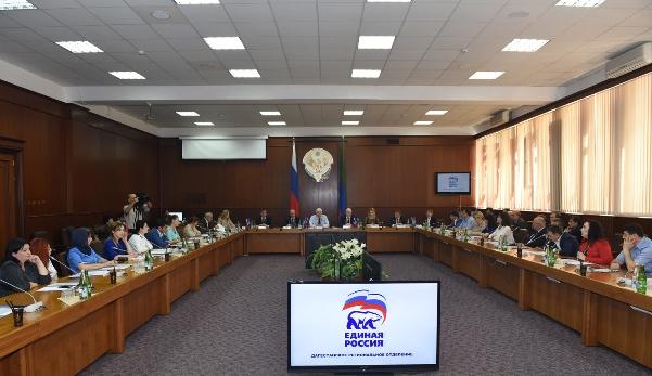 «Единая Россия» получила 501 мандат в органах местного самоуправления в Дагестане