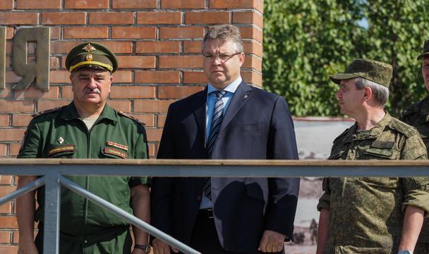 НаСтаврополье сформирован воинский полк изместных граждан