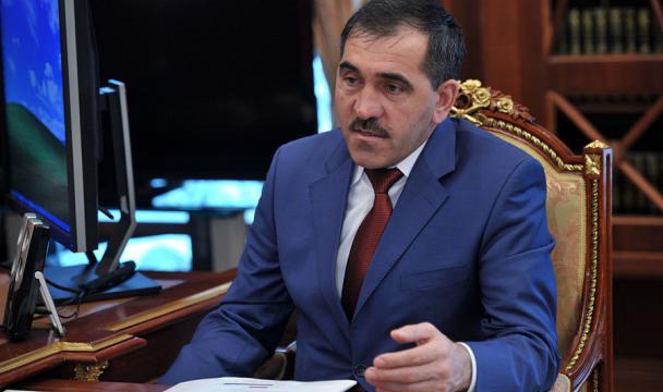 Руководитель Ингушетии Юнус-Бек Евкуров отказался отмандата депутата Государственной думы