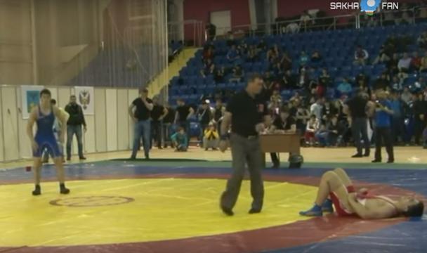 Делегация чеченских спортсменов устроила массовую разборку с оружием в Старом Осколе (видео)