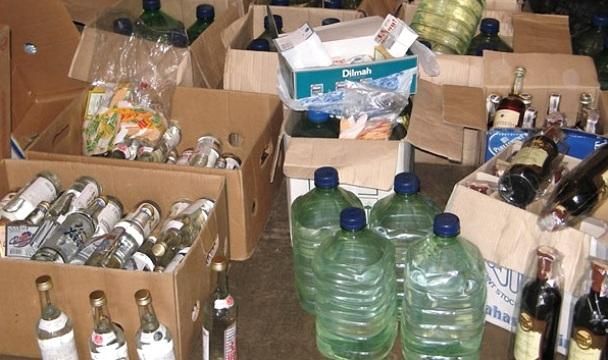 Цех поизготовлению суррогатного алкоголя был найден  вПодмосковье