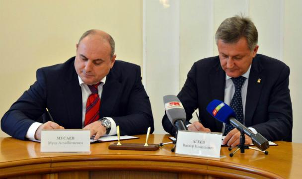 Симферополь иМахачкала подписали соглашение осотрудничестве