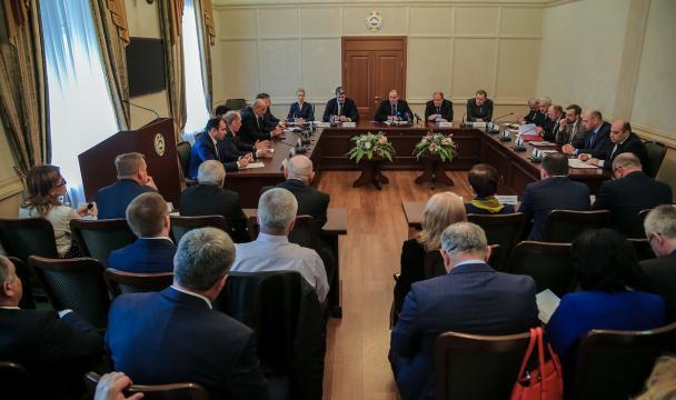 Заседание республиканского комитета «Победа»