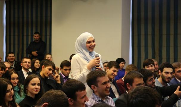 выступление главы на встрече с молодежью: