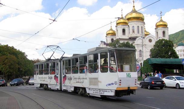 ВПятигорске запустили трамвай-музей