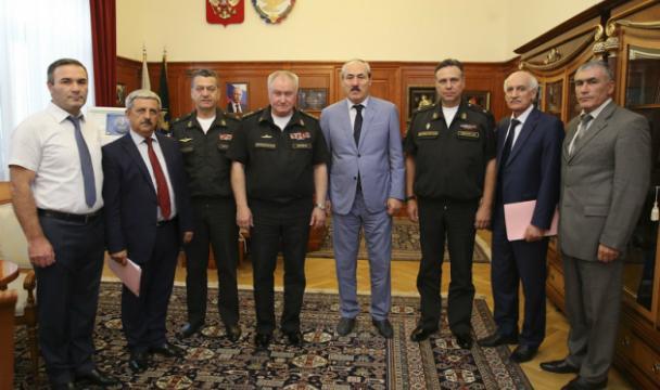 Главком ВМФ проверил боеспособность Каспийской флотилии