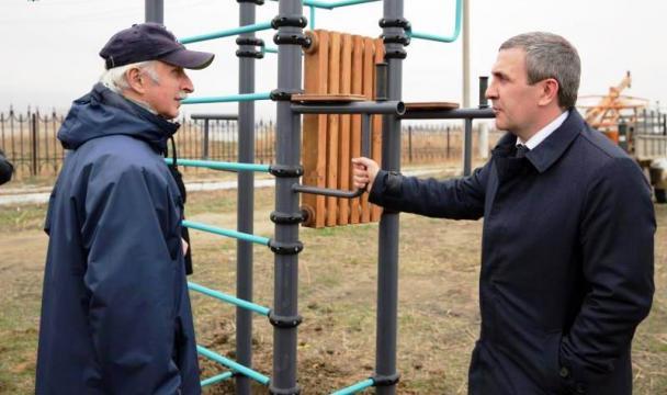 В махачкалинских парках установят спортивные тренажеры