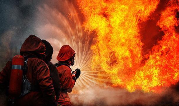 ВСтаврополе вжилом доме поулице Дзержинского произошел пожар