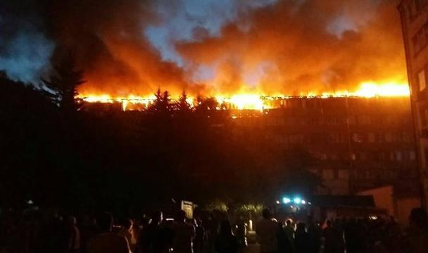 Неменее 25 квартир пострадали в итоге пожара вЕссентуках