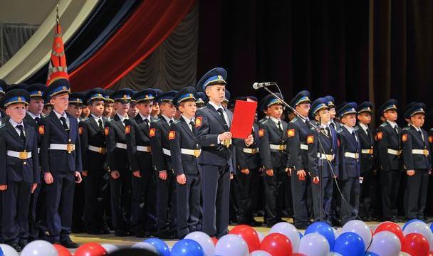 Губернатор Ставрополья Владимиров поздравил кадет сприсягой
