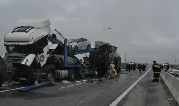ВСеверной Осетии случилось ДТП спятью погибшими