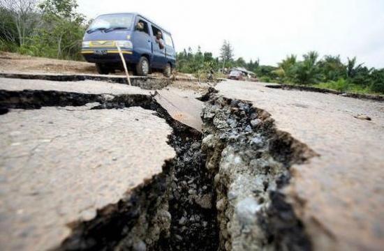 Землетрясение вИране было ощутимо вАрмении силой 2