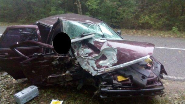 Около Ставрополя «Приора» врезалась вдерево: умер пассажир