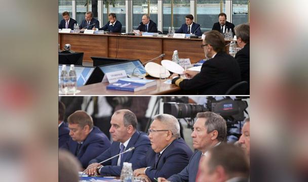 Владимир Путин провел вВолгоградской области совещание президиума государственного совета РФ