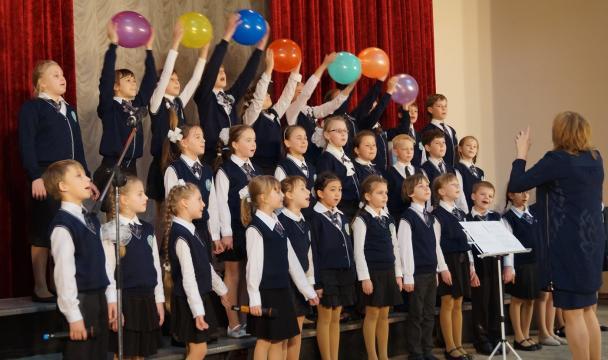 «Поют дети России» - городской этап фестиваля школьных хоров