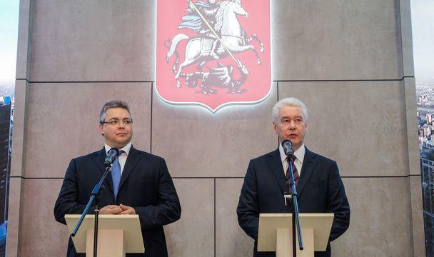 Губернатор Ставрополья имэр столицы договорились осотрудничестве