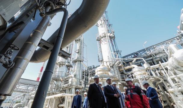Впроизводство полиэтилена наСтаврополье вложат 4,5 млрд руб