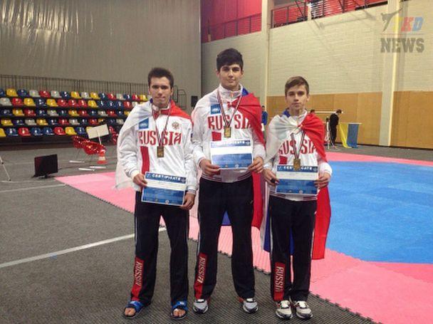 Донские тхэквондисты стали призерами Первенства Европы